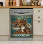 Horse Don't Tell Me What To Do Dishwasher Cover Sticker Kitchen Decor