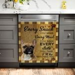 I'll Be Watching You Bulldog Dishwasher Cover Sticker Kitchen Decor