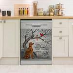 Gordon Setter Bird Pattern Dishwasher Cover Sticker Kitchen Decor
