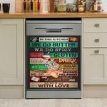 In This Kitchen We Do It All With Love Dishwasher Cover Sticker Kitchen Decor