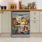 Food Storage Cupboard Our Kitchen Dishwasher Cover Sticker Kitchen Decor