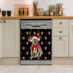 Koala Christmas Dishwasher Cover Sticker Kitchen Decor