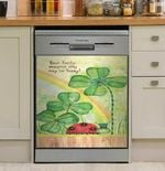 Flower Your Lucky Magical Day May Be Today Dishwasher Cover Sticker Kitchen Decor