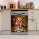 German Shorthaired Pointer Colorful Pattern Dishwasher Cover Sticker Kitchen Decor