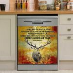 Hunt I Do Not Hunt For The Joy Of Killing Dishwasher Cover Sticker Kitchen Decor