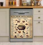 Kitchen Witchery Witchcraft Art Dishwasher Cover Sticker Kitchen Decor