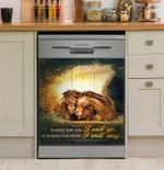 Horse Where You Stay I Will Stay Dishwasher Cover Sticker Kitchen Decor