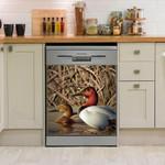 Hunting Duck Art Dishwasher Cover Sticker Kitchen Decor