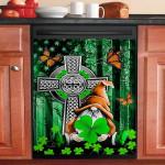 Gnome Irish Cross Flag Dishwasher Cover Sticker Kitchen Decor
