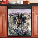 Florence Villa Dishwasher Cover Sticker Kitchen Decor