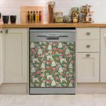 Irish Wheaten Terrier Pattern Dishwasher Cover Sticker Kitchen Decor