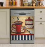Grannys Kitchen Dishwasher Cover Sticker Kitchen Decor
