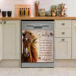 Horse Darling Dishwasher Cover Sticker Kitchen Decor