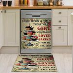I Am A Girl Who Really Loved Baking Dishwasher Cover Sticker Kitchen Decor