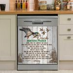 Hunt Duck Hunters Prayer Dishwasher Cover Sticker Kitchen Decor