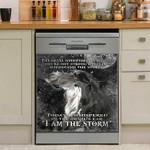 Horse I Am The Storm Dishwasher Cover Sticker Kitchen Decor