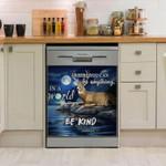 Deer Be Kind Dishwasher Cover Sticker Kitchen Decor