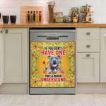 If You Don't Have One American Pitbull You'll Never Understand Flowery Dishwasher Cover Sticker Kitchen Decor