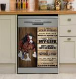 I Am Your Clydesdale Dishwasher Cover Sticker Kitchen Decor