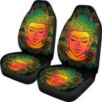 Reggae Buddha Mandala Flower Printed Car Seat Covers