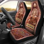 Celtic Ceridwen Goddess Of Rebirth And Inspiration Printed Car Seat Covers