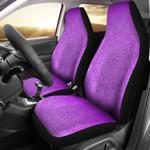 Mandala Purple Design Printed Car Seat Covers