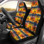Palm Tree Pattern Summer Afternoon Printed Car Seat Covers