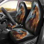 Spirit Animal Wild Horse Printed Car Seat Covers