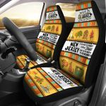 Made In Jersey Fauna And Flora Printed Car Seat Covers