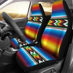 Mexican Zigzag Design Printed Car Seat Covers
