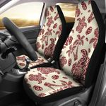 Polynesian Tattoo Turtle Themed Design Printed Car Seat Covers