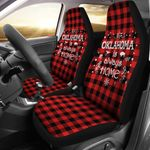 Oklahoma Is Always Home Printed Car Seat Covers