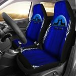 Paw Love Dachshund Couple Shadow Printed Car Seat Covers