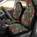 Element Of Nurse Hand Drawn Printed Car Seat Covers