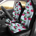 A Bunch Of Cherry Pattern Printed Car Seat Covers