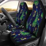 Peacock Art Fairy Design Printed Car Seat Covers