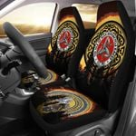 Printed Car Seat Covers Celtic Isle Of Man Motorcycle Races