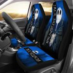 Jack Skellington Skull Art Design Printed Car Seat Covers