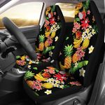 Tropical Fruits Pattern Summer Vibe Printed Car Seat Covers