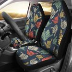 Surf Hand Sign Pattern Printed Car Seat Covers