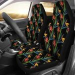 Heliconia Into The Wild Printed Car Seat Covers