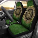Celtic Car Celtic Irish St Brigid's Cross Triple Spiral Printed Car Seat Covers