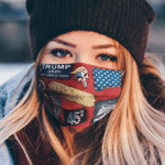 3/5/10pcs Trump Train 2020 MAGA - We The People Cloth Face Cover