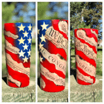 30 oz Straight Tumbler - We The People