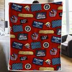 We The People - Trump Blanket