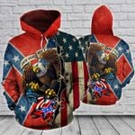 These Colors Do Not Run - Eagle Hoodie