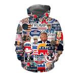 Trump President 2020 Hoodie