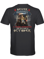 Never Underestimate - Trump Supporter - October