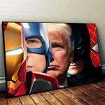 Trump Superhero Poster