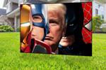 Trump Superhero Yard Sign